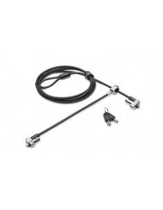 Kensington N17 Keyed Dual Head Laptop Lock for Wedge-Shaped Slots Kensington K67995WW - 1