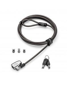 Kensington ClickSafe 2.0 Universal Keyed Laptop Lock kaapelilukko Musta 1.8 m Kensington K68102EU - 1