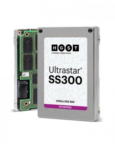 """Western Digital SS300 2.5"""" 7680 GB SAS 3D TLC Hgst 0B34960 - 1"""