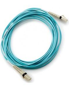 Hewlett Packard Enterprise 30m LC/LC OM3 fibre optic cable Blue Hp AJ838A - 1