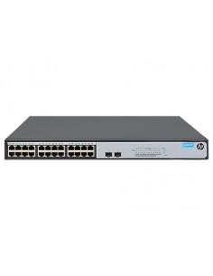 Hewlett Packard Enterprise OfficeConnect 1420 24G 2SFP+ Ohanterad L2 Gigabit Ethernet (10/100/1000) 1U Grå Hp JH018A#ABB - 1