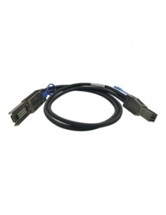 QNAP CAB-SAS20M-8644-8088 Serial Attached SCSI (SAS) cable 2 m Black Qnap CAB-SAS20M-8644-8088 - 1