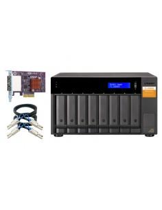 """QNAP TL-D800S Hölje för lagringsenheter HDD- / SSD kabinett Svart, Grå 2.5/3.5"""" Qnap TL-D800S - 1"""
