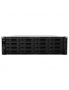 Synology RackStation RS4017xs+ NAS Rack (3U) Ethernet LAN Black, Grey D-1541 Synology RS4017XS+ - 1