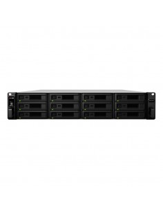 Synology RX1217sas disk array Rack (2U) Black Synology RX1217SAS - 1