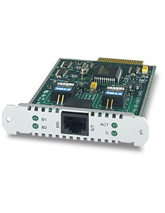 Allied Telesis 1-Port (S) Basic Rate ISDN PIC interface cards/adapter Allied Telesis AT-AR021S-00 - 1