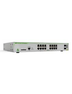 Allied Telesis AT-GS970M/18PS-30 verkkokytkin Hallittu L3 Gigabit Ethernet (10/100/1000) Power over -tuki Harmaa Allied Telesis