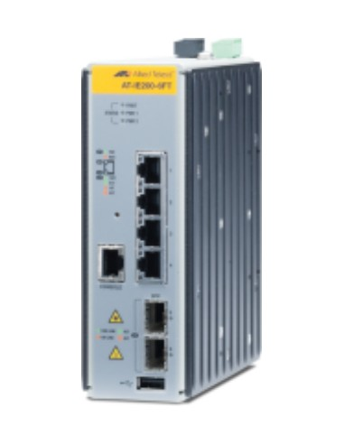 Allied Telesis AT-IE200-6FT-80 Managed L2 Fast Ethernet (10/100) Grey Allied Telesis AT-IE200-6FT-80 - 1