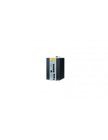 Allied Telesis 990-003868-80 Hallittu L2 Gigabit Ethernet (10/100/1000) Power over -tuki Musta Allied Telesis AT-IE200-6GP-80 -