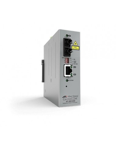 Allied Telesis AT-IMC2000T/SC-980 mediakonverterare för nätverk 1000 Mbit/s 850 nm Flerläge Grå Allied Telesis AT-IMC2000T/SC-98