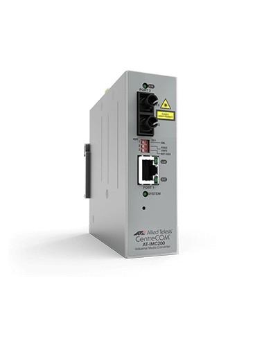 Allied Telesis AT-IMC200T/SC-980 verkon mediamuunnin 100 Mbit/s 1310 nm Harmaa Allied Telesis AT-IMC200T/SC-980 - 1