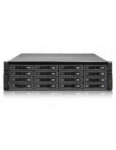 QNAP REXP-1620U-RP levyjärjestelmä Teline ( 3U ) Musta Qnap REXP-1620U-RP - 1
