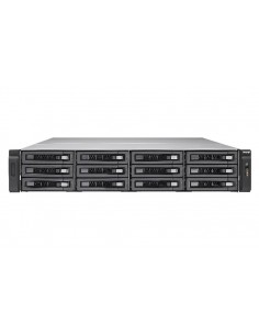 QNAP TES-1885U NAS Rack (2U) Nätverksansluten (Ethernet) Svart D-1521 Qnap TES-1885U-D1521-8GR - 1