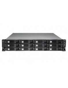 QNAP UX-1200U-RP hårddiskar Rack (2U) Svart Qnap UX-1200U-RP - 1