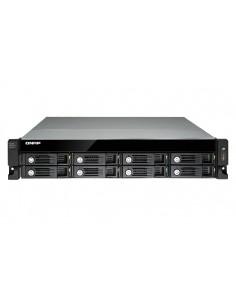 QNAP UX-800U-RP disk array Black Qnap UX-800U-RP - 1