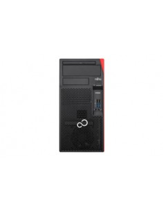 Fujitsu ESPRIMO P558 i5-9400 Micro Tower 9. sukupolven Intel® Core™ i5 8 GB DDR4-SDRAM 256 SSD Windows 10 Pro PC Musta Fujitsu T