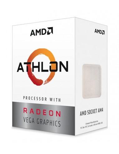 AMD Athlon 3000G suoritin 3.5 GHz Laatikko 4 MB L3 Amd YD3000C6FHBOX - 1