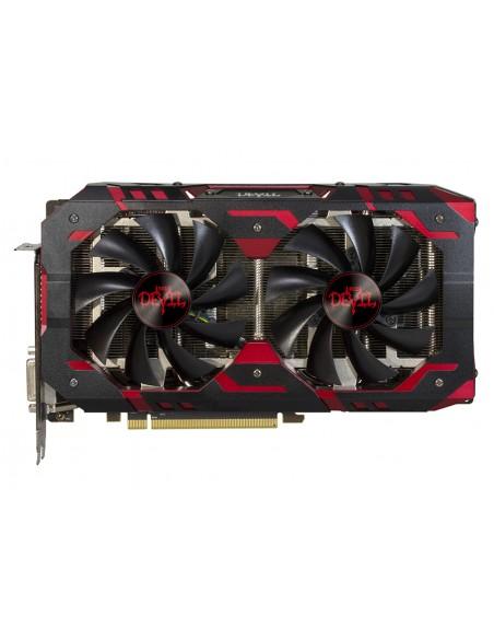 PowerColor Red Devil AXRX 580 8GBD5-3DH/OC graphics card AMD Radeon RX 8 GB GDDR5 Tul Corporation AXRX580 8GBD5-3DH/OC - 4