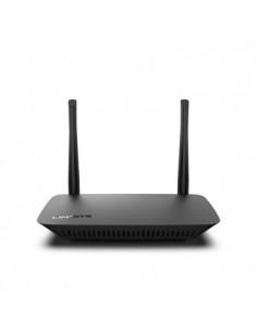 Linksys E5400 trådlös router Gigabit Ethernet Dual-band (2,4 GHz / 5 GHz) Svart Linksys E5400-EU - 1