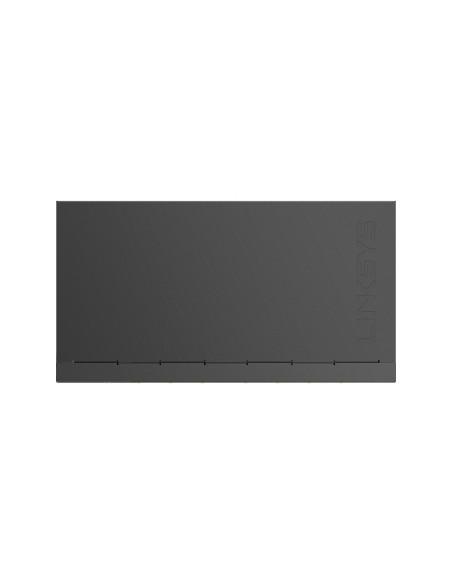 Linksys LGS108 Hallitsematon Gigabit Ethernet (10/100/1000) Musta, Sininen Linksys LGS108-EU-RTL - 6