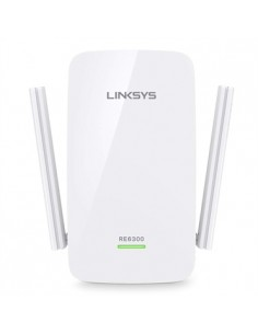 Linksys AC750 300 Mbit/s Vit Linksys RE6300-EU - 1