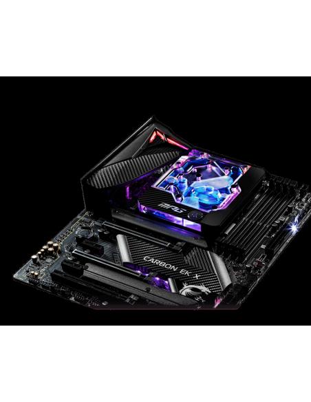 MSI MPG Z490 Carbon EK X Intel LGA 1200 ATX Msi MPG Z490 CARBON EK X - 2