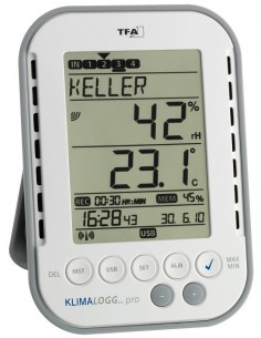TFA-Dostmann 30.3039.IT digital weather station Grey, White Tfa-dostmann 30.3039 - 1