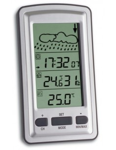 TFA-Dostmann 35.1079 digital väderstation Silver Tfa-dostmann 35.1079 - 1