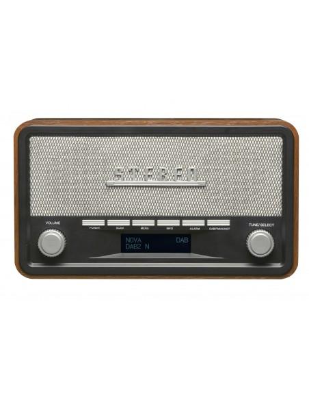 Denver DAB-18 radio Henkilökohtainen Analoginen & digitaalinen Musta, Harmaa Denver 111111000180 - 2