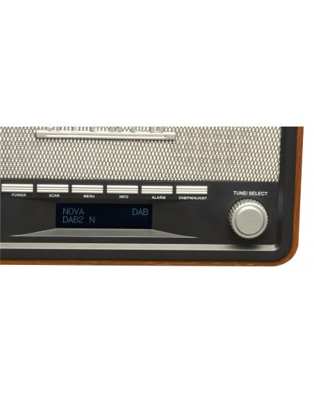 Denver DAB-18 radio Henkilökohtainen Analoginen & digitaalinen Musta, Harmaa Denver 111111000180 - 4