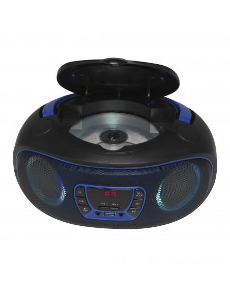 Denver TCL-212BT BLUE CD-soitin Kannettava Musta, Sininen Denver 111141300010 - 3