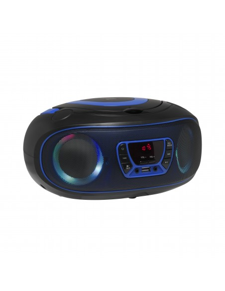 Denver TCL-212BT BLUE CD-soitin Kannettava Musta, Sininen Denver 111141300010 - 4