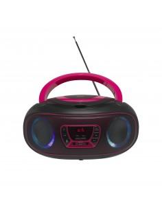 Denver TCL-212BT PINK CD-soitin Kannettava Musta, Vaaleanpunainen Denver 111141300011 - 1