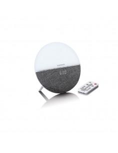 Lenco CRW-4 Clock Digital Grey, White Lenco CRW-4GRAU - 1