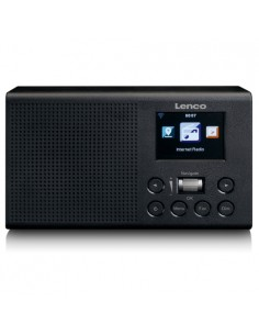 Lenco DIR-60 Internet Black Lenco DIR-60BK - 1