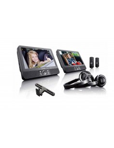 "Lenco DVP-939 kannettava DVD-/Blu-ray-soitin Pöydän pinta Musta 22,9 cm (9"") 800 x 480 pikseliä Lenco DVP939 - 1"