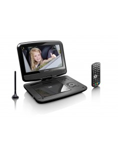 "Lenco DVP-9413 Kannettava DVD-/Blu-ray-soitin DVD-soitin Muunneltava Musta 22,9 cm (9"") Lenco DVP9413 - 1"