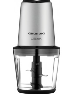 Grundig CH 7680 elektrisk matberedare 0.5 l 500 W Svart, Rostfritt stål Grundig GMN9040 - 1