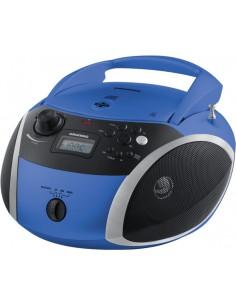 Grundig GRB 3000 BT Digitaalinen 3 W Musta, Sininen, Hopea Grundig GPR1100 - 1