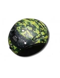 Grundig GRB 4000 BT DAB+ Portable CD player Camouflage Grundig GPR1170 - 1