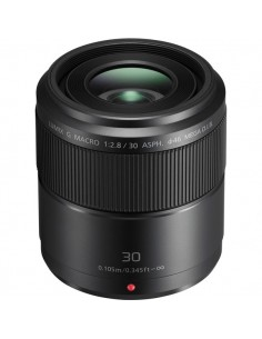 Panasonic Lumix G Macro 30mm / F2.8 ASPH. MEGA O.I.S. SLR Makro-objektiivi Musta Panasonic H-HS030E - 1