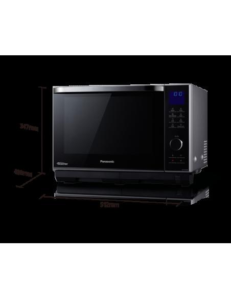 Panasonic NN-DS596MEPG mikrovågsugnar Bänkdiskmaskin Kombinationsmikrovågsugn 27 l 1000 W Silver Panasonic NN-DS596MEPG - 2