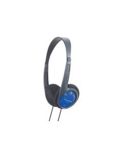 Panasonic RP-HT010E Headphones Head-band 3.5 mm connector Black, Blue Panasonic RPHT010EA - 1