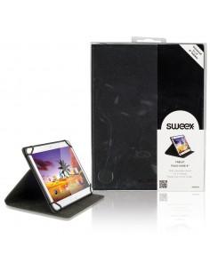 "Sweex SA320V2 taulutietokoneen suojakotelo 20.3 cm (8"") Folio-kotelo Musta Sweex SA320V2 - 1"