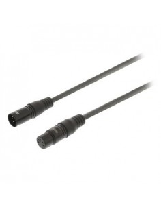 Sweex SWOP15500E30 audiokaapeli 3 m XLR (5-pin) Musta Sweex SWOP15500E30 - 1