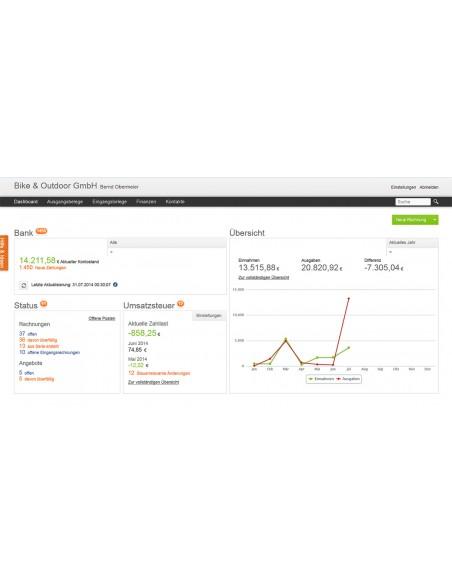 Lexware Lexoffice - Rechnung & Finanzen Elektroninen ohjelmistolataus (ESD) Saksa Lexware Gmbh & Co. Kg 01347-0550 - 2