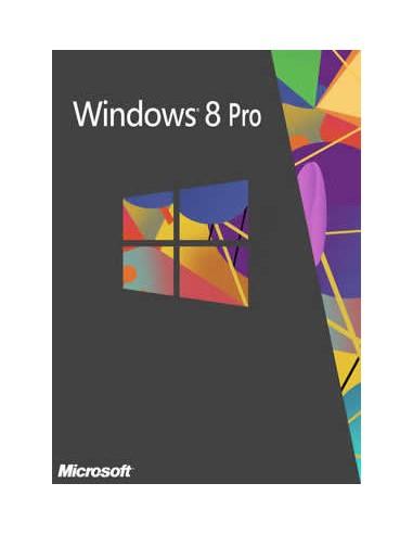 Microsoft Windows 8 Pro, x32, OEI, OEM, DSP, 1pk, DVD, ENG Microsoft 4YR-00011 - 1