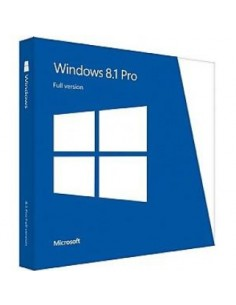 Microsoft Windows 8.1 Pro, 64-bit, OEI, GGK, NOR Microsoft 4YR-00170 - 1