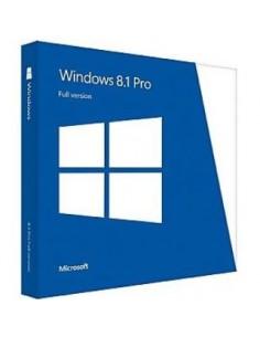 Microsoft Windows 8.1 Pro, 1 PC, OEM, DVD, 64-bit, DK Microsoft 4YR-00179 - 1