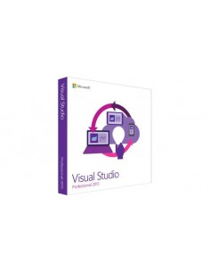Microsoft Visual Studio Professional 2015 1 lisenssi(t) Microsoft C5E-01234 - 1